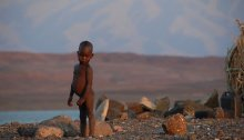 ребёнок в Африке