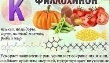 действие витамина K