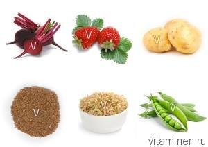 Источник ванадия для организма