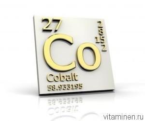 Кобальт химический элемент